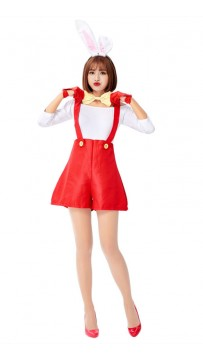 Halloween Cute Red Bunny Costumes