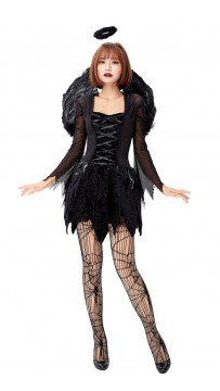 Halloween Women Sexy Fallen Angel Costume