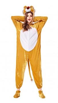 Halloween Women Courageous Lion Costume