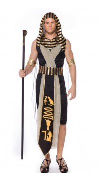 Halloween Egyptian Pharaoh Man Costume