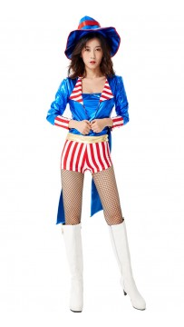 Halloween Woman Sexy Circus Magician Costume