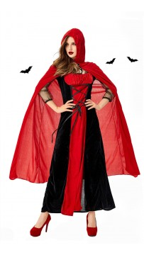 Halloween Uniform Little Red Riding Hood Cosplay Costume