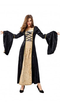 Halloween Uniform European Medieval Retro Aristocrat Dress