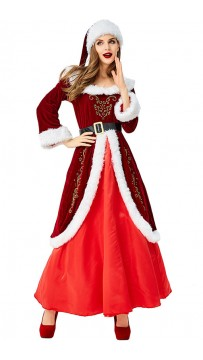 Mrs Claus Womens Christmas Costume