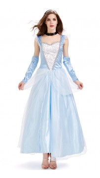 Halloween Cosplay Sandy Girl Cinderella Princess Costume