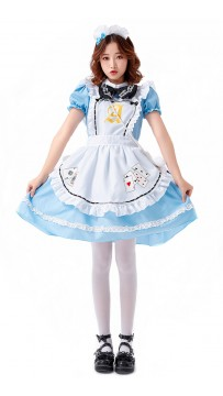 Halloween Fantasy Adventure Lolita Maid Costume