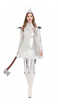 Halloween Oates Countries Tin Man Women Costumes