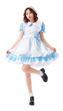 Halloween Lolita Cosplay Alice Dress