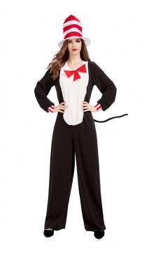 Halloween funny circus cute cat woolen costume