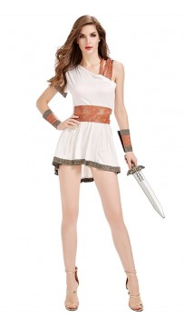 Halloween Costume Of Sparta Ancient Roman Goddess Of War
