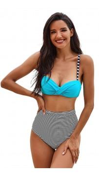 Sexy Print Two-Piece Beach Bikini