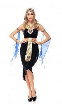 Woman Halloween Egyptian Goddess Costume