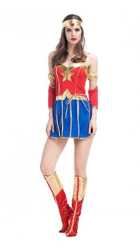 Halloween Marvel Movie Superman Cosplay Superwoman