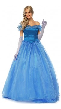 Halloween Cosplay Cinderella Princess Party Costume