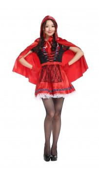 Halloween Women Little Red Costume