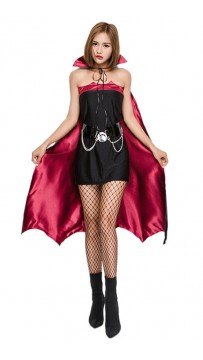 Halloween Vampire Bat Vamp Costume