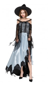 Halloween Party Witch Queen Cosplay Costume