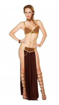 Halloween Egyptian Deluxe Space Slave Costume