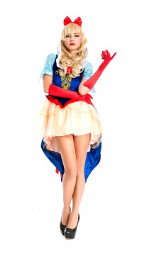 Halloween Fairytale Princess Queen Costume