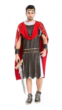 Halloween Man Spartan Warrior Costume