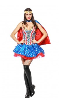 Halloween Marvel Movie Captain America Supergirl