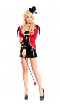 Halloween Sexy Deluxe Circus Ringmaster Costume