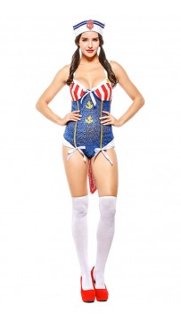 Halloween Women Sexy Sailor Halloween Costume