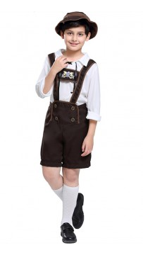 Halloween Toddler Lederhosen Boy Costume
