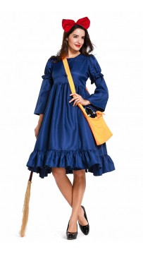 Halloween Kikis Delivery Witch Dress