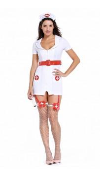 Sexy Classic White Nurse Costumes