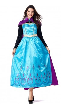 Halloween Anime Princess Aisha Ice Queen Costume