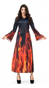 Halloween Hellfire Fiend Witch Costumes