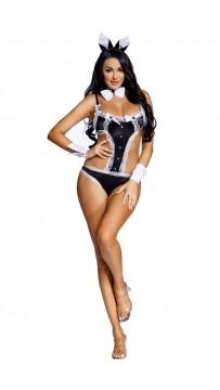 Halloween Sexy Bunny Girl Jumpsuit