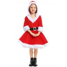 Christmas Red Santa Child Dress