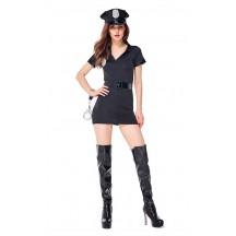 Halloween Sexy Frisk Me Please Cop Costume