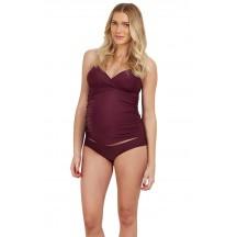 Comfortable One-Piece Maternity Bikini Swimsuit
