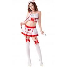 Halloween Sexy Nurse Cosplay Costumes