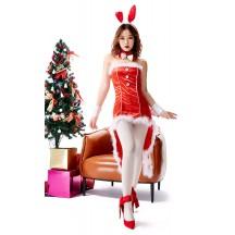 Christmas Bunny Cocktail Dress