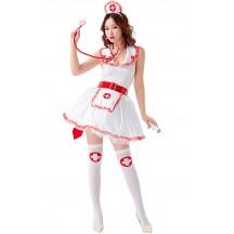 Sexy Pin Up Nurse Womens Costume