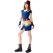 Halloween Woman Denim Sailor Uniforms