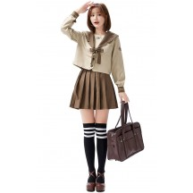 Halloween Anime Loli Japan JK Uniform Cosplay Costume