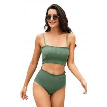 Sexy High Waist Sling Two-Piece Bikini