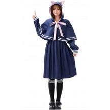 Halloween Cat Jk Uniform Pleated Skirt