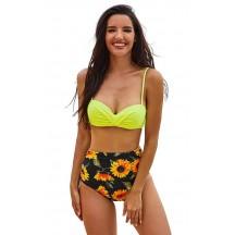 Sexy Print Beach Bikini Two-Piece