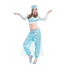 Halloween Princess Jasmine Cosplay for Adult