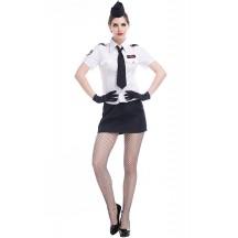 Sexy White Navy Sailor Fun Suit