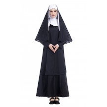 Halloween Costumes Arabic Religious Monk Ghost Cosplay Uniform