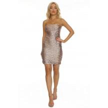 Sexy Slim Metallic Sequin Bandage Dress