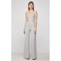 Herve Leger Metallic Eyelash Pant