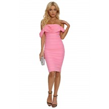 Sleeveless Sexy Party Red Carpet Pink Dress